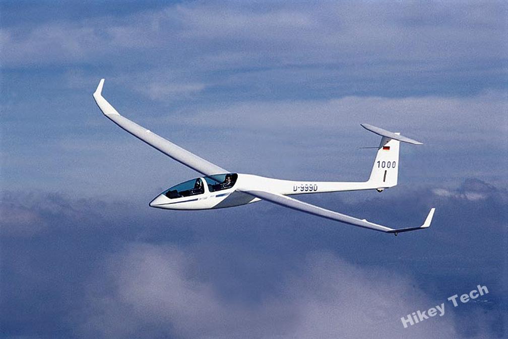 滑翔机结构图