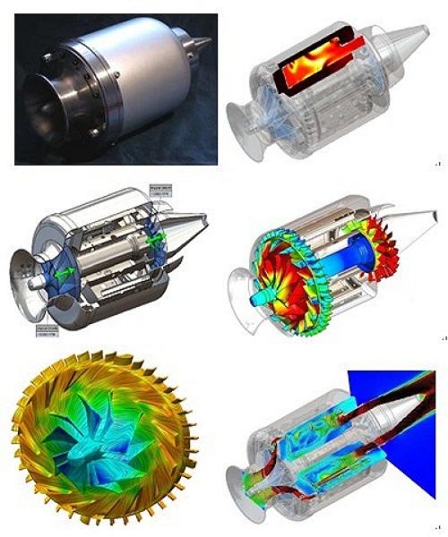 FloEFD在微型燃气轮机领域的应用