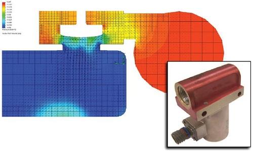 FloEFD在改善燃油阀性能方面的应用